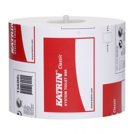 KATRIN 156005 Classic System 800 2ply Toilet Roll 36 x 100M