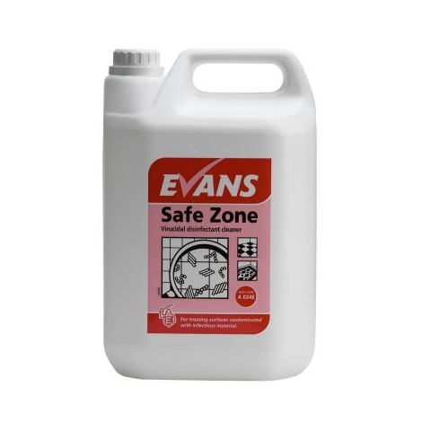 EVANS Safe Zone Virucidal Disinfectant x 5L