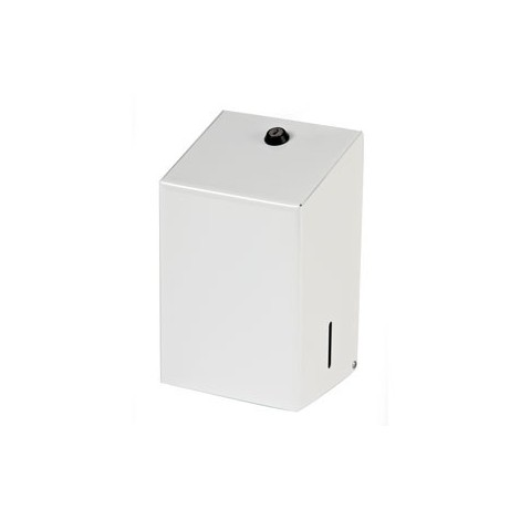 White Metal Bulk Pack Tissue Dispenser