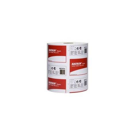 KATRIN 481911 Classic White 2ply Centrefeed 6 x 152M Rolls